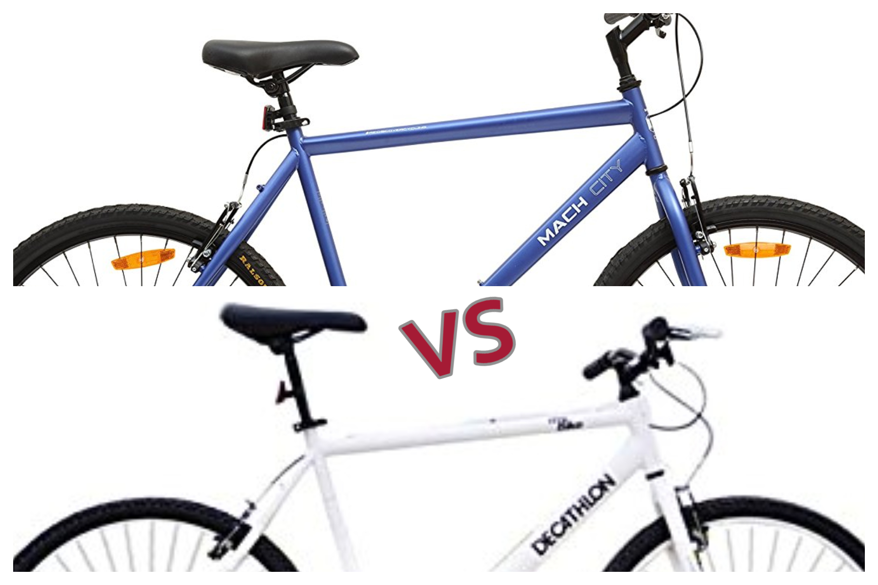 Btwin My Bike vs Mach City iBike – Review   Price in India 4ded5c7ad