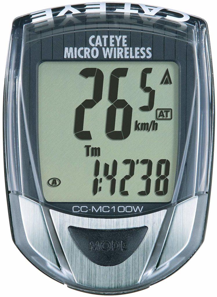 Cateye CC-MC100W Micro Wireless Cyclocomputer