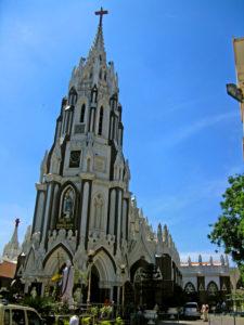 St._Marys_Basilica_Bangalore route