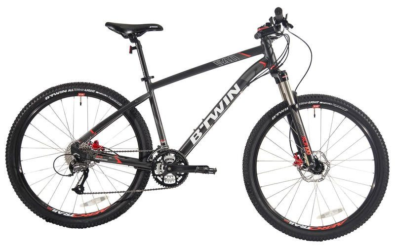 Btwin MTB - Rockrider 540 Review India