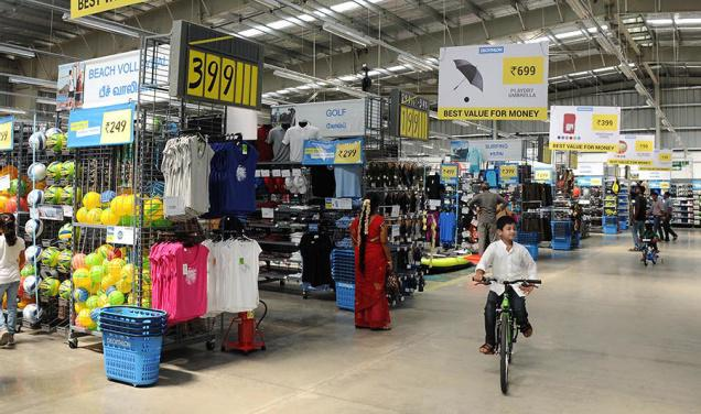 Decathlon Store in Bangalore