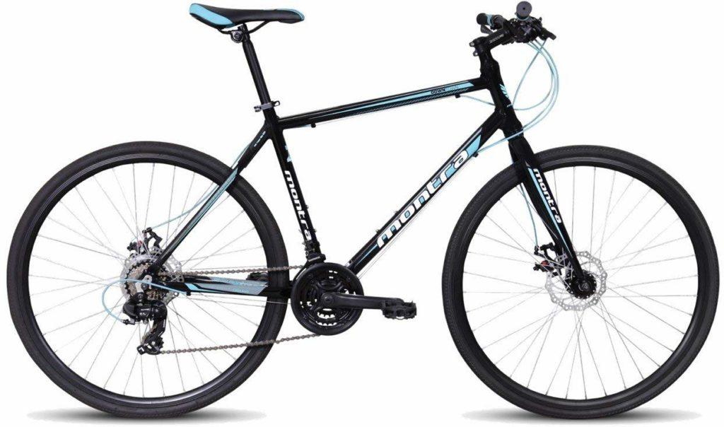 Montra Downtown - Dual Disk Brake Hybrid Cycle with gear