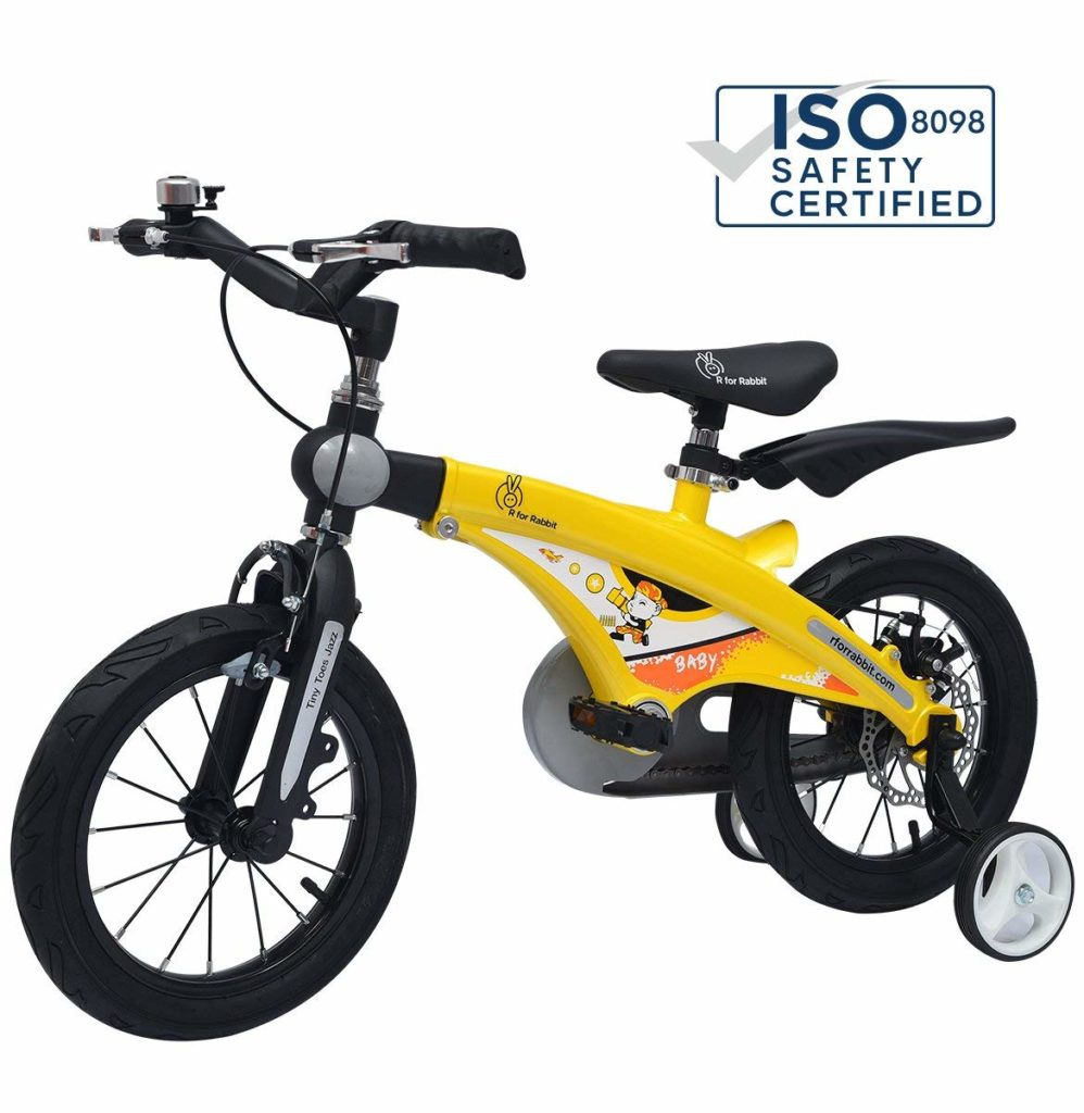 R for Rabbit - Bicycle for Girls aged 2, 3, 4 and 5 years India