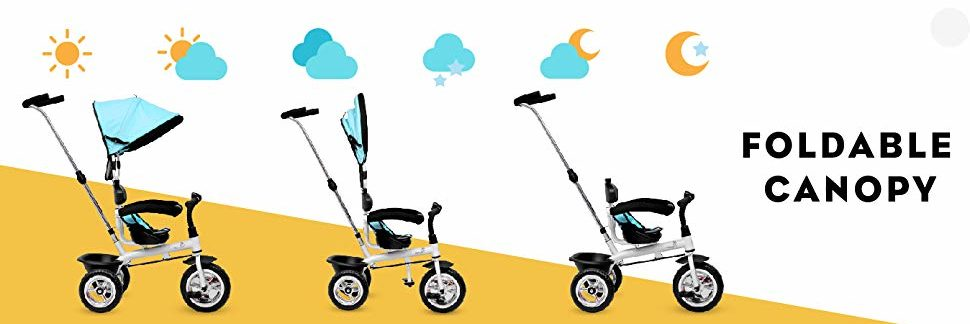 R for Rabbit canopy Tricycle Review