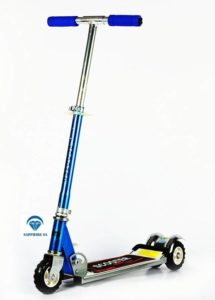 Sapphire Adjustable & Folding Scooter for Kids