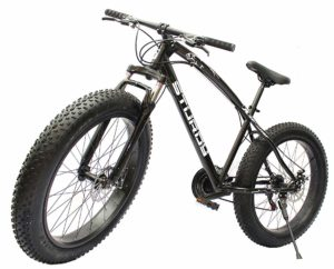 Black Fat bike India
