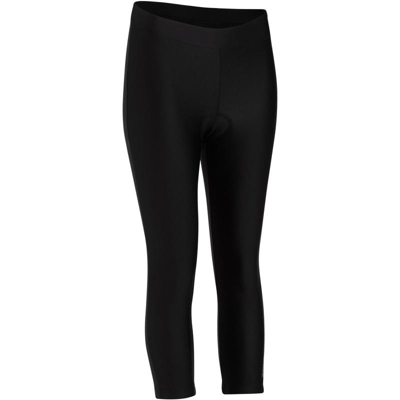 ST100 WOMENS MOUNTAIN BIKING CROP BOTTOMS by Decathlon