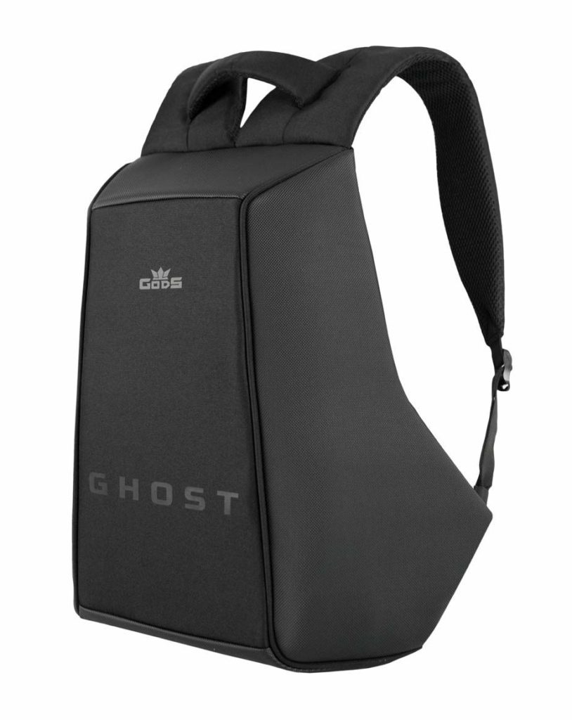 Anti theft backpack for cycling