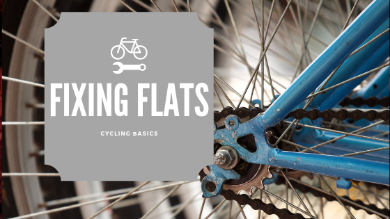 Fixing Flat Tyre - Cycling Basics