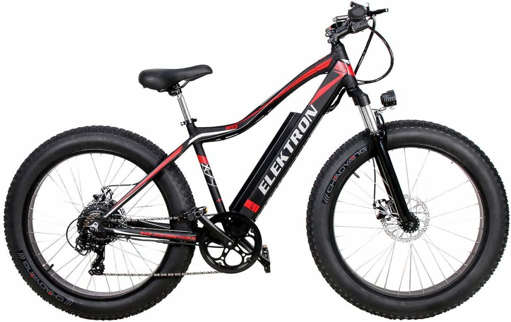 Elektron M5X Electric Fat Bicycle in India